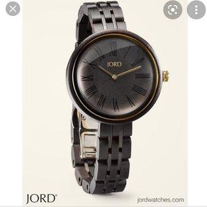Jord Cassia Ebony & Sable Watch